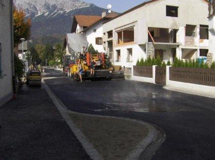Asphaltierungsarbeiten Andreas-Hofer-Straße 2008